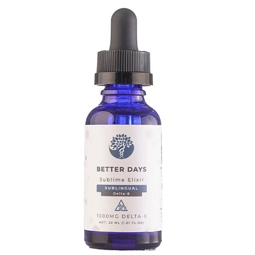 Better Days- Delta 8 Sublingual 1000MG