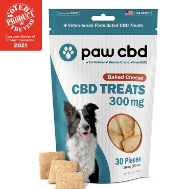 Hard Treats - BAKED CHEESE - 300 MG CBD (30 Count)