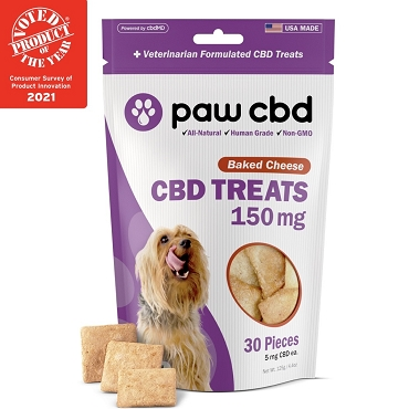 Hard Treats - BAKED CHEESE - 150 MG CBD (30 Count)
