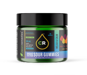 Relax & Calm Sour Gummies  300MG