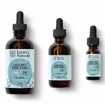 Lazarus Naturals- Calming Full Spectrum Pet CBD Tincture